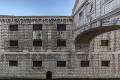 Cara de la prisión del dux Imagen de archivo libre de regalías