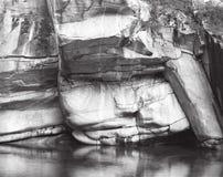 Cara de la roca Fotos de archivo