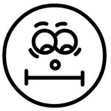 Cara de la sonrisa Fotos de archivo libres de regalías