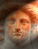 Cara de la terracota Foto de archivo libre de regalías