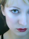 Cara de las muchachas del primer Fotos de archivo libres de regalías