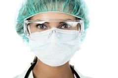 Cara de los doctores Fotografía de archivo
