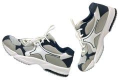 Cara de los zapatos de los deportes Foto de archivo libre de regalías