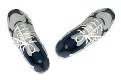 Cara de los zapatos de los deportes Fotos de archivo libres de regalías
