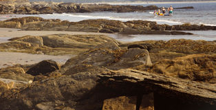 Cara de mar en Nueva Escocia Fotografía de archivo