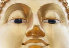 Cara de oro de Buddha Fotografía de archivo