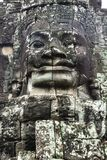 Cara de pedra em Camboja fotos de stock