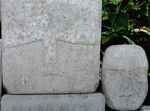 Cara de piedra Foto de archivo libre de regalías