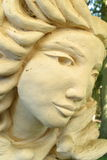 Cara de piedra fotografía de archivo