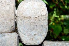 Cara de piedra antigua Imágenes de archivo libres de regalías