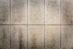 Cara de piedra sucia Imagenes de archivo