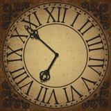 cara de reloj ilustración del vector