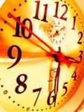Cara de reloj Imágenes de archivo libres de regalías