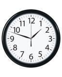 Cara de reloj aislada. Ejemplo del vector Imagenes de archivo