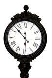 Cara de reloj antigua Fotografía de archivo libre de regalías