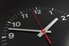 Cara de reloj clásica con hora, minuto y las segundas manos libre illustration