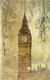 Cara de reloj de Big Ben Foto de archivo libre de regalías