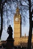 Cara de reloj de Big Ben Imágenes de archivo libres de regalías