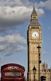 Cara de reloj de Big Ben Fotos de archivo