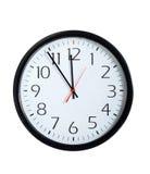 Cara de reloj de la oficina Imagen de archivo