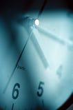 Cara de reloj de tiempo. Imágenes de archivo libres de regalías