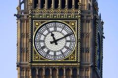 Cara de reloj de Westminster Foto de archivo
