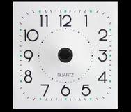 Cara de reloj sin manos fotos de archivo