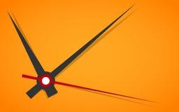 Cara de reloj. Vector. Ponga su tiempo. Imagen de archivo libre de regalías