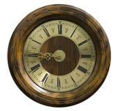 Cara de reloj vieja imagen de archivo libre de regalías