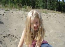 Cara de Smilely Fotos de archivo