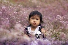 Cara de sorriso das crianças Foto de Stock