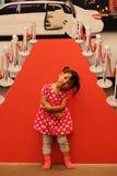 Cara de sorriso das crianças Fotos de Stock Royalty Free