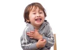 Cara de temblor del muchacho Foto de archivo libre de regalías