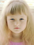 Cara de um anjo Fotos de Stock Royalty Free