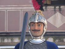Cara de um gigante, típica dos partidos imagem de stock royalty free