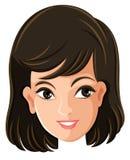 A cara de uma fêmea Foto de Stock Royalty Free