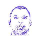 Cara de un hombre Fotos de archivo libres de regalías