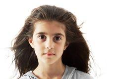 Cara de una belleza joven Imagen de archivo