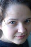 Cara de una chica joven sin un maquillaje Fotografía de archivo