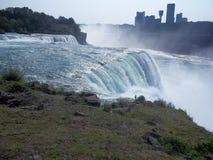 Cara del americano de Niagara Falls Imagen de archivo libre de regalías