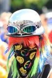 Cara del arco iris Foto de archivo