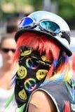 Cara del arco iris Foto de archivo libre de regalías