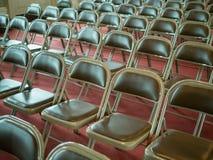 Cara del asiento del seminario dejada Imagen de archivo