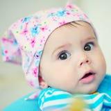 Cara del bebé Imagenes de archivo