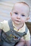 Cara del bebé Fotografía de archivo