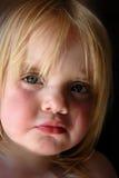 Cara del bebé Fotos de archivo libres de regalías