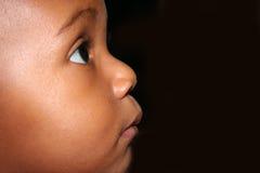 Cara del bebé Fotografía de archivo libre de regalías
