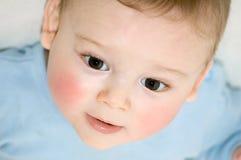 Cara del bebé Imagen de archivo libre de regalías