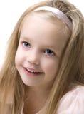 Cara del bebé de la belleza Foto de archivo