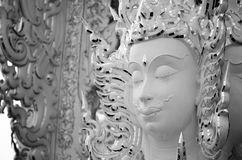 Cara del budista Art Work Thailand de dios Foto de archivo